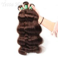 China Healthy Dyeable 7A  Virgin  Hair Bundles Full Ends No Foul Odor wholesale