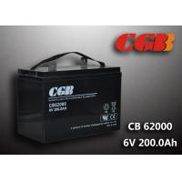 China CB62000 6v Deep Cycle Battery 200ah Power Energy Solar Wind Lead Acid Sealed Batteries wholesale