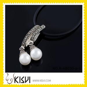 Quality Fashion Custom Gemstone Thai Copper Pendant for sale