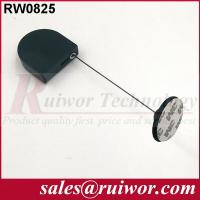 China Adhesive Plastic Plate Display Security Tether With 2.8x2.8x0.8Cm Size wholesale