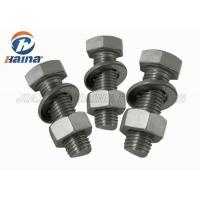 China GB Half Thread Hexagon Head Stainless Steel Bolts , M4-M36 Thumb Screws wholesale