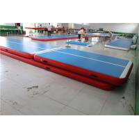 China Soft Inflatable Air Tumble Track  Gymnastic Equipment 2 Years Warranty RoHs Approved wholesale