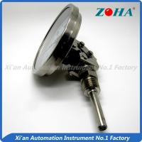 China Universal Mounting Bimetal Dial Thermometer For Measuring Chemical Textile wholesale