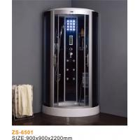 China Low Entrance Commercial Steam Room Equipment / Anti Slip Steam Shower Bath Cabin wholesale