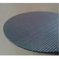 China 5 Layers Sintered Stainless Steel Filter Screen Plate High Filtering Accuracy wholesale