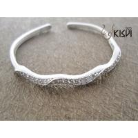 China Fashion Jewelry 925 Sterling Silver Bangle with Zircon W-SB004 wholesale
