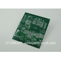 China Double Sided 3oz Blank Copper Pcb Board Immersion Silver Plating Green Solder Mask wholesale
