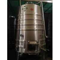 China Fruit Wine Making Equipment , 5000l Stainless Steel Fermentation Vessel wholesale