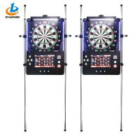 China Metal Coin Operated Game Machine / Soft Tip Dart Board Machine 50 Herts Frequency wholesale