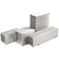 China CNC Machining Aluminum Extrusion Enclosure , T3-T8 Stacked Bonded Fin Heat Sink wholesale