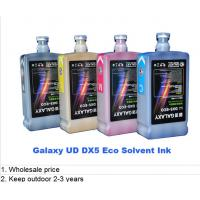 China Digital Universal UD DX5 Galaxy Eco Solvent Ink 1L bottle package wholesale