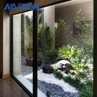 China Home Picture Framed Windows Aluminium Picture Window With Side Windows wholesale