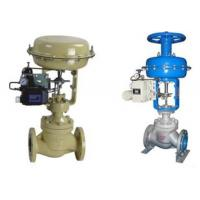 China Single Seated Flanged Pneumatic Control Valve / Pneumatic Operated Diaphragm Valve wholesale