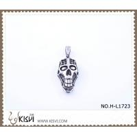 China Hot sell 316 Stainless Steel Death's-Head Pendant H-L1723 wholesale