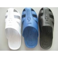 China Home Anti Static Shoes Comfortable Durable Safety ESD Six Hole SPU Slippers wholesale