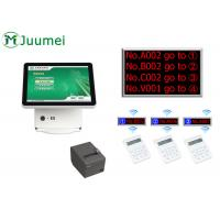 China Manual Queue Management System Steel Cabinet With Touch Screen wholesale