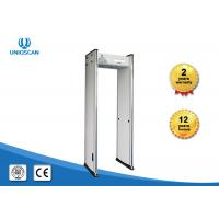 Buy cheap Economic 6 Zone Alarm Light Security Walk Through Metal Detectors With PC Network Function from wholesalers