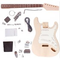 China Fender ST Style Unfinished DIY Electric Guitar Kits / Semi Finished Guitar AG-ST1 wholesale
