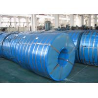 China 750mm - 1250mm Zinc Coated Spangle Hot Dipped Galvanized Steel Coils wholesale