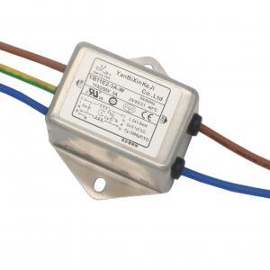 China Single Phase Compact EMI EMC RFI Filter AC Line Noise Filter wholesale