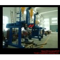 China Automatic T / H Beam Welding Machine For H Beam Production Line 5000mm Railspan wholesale