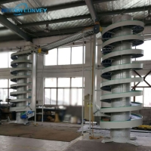 China Oil Resistant 380V Screw Vertical Lifting Conveyor Elevator wholesale