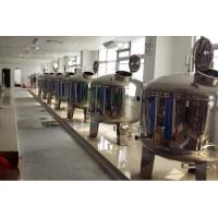 China Mirror Polish Water Treatment Accessories SS304 SS316 Stainless Steel Filter Tank  /  Pre Treatment Tank wholesale
