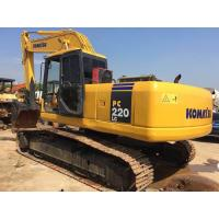 Quality Japan Second Hand Komatsu Excavator 22 Tonnage Bucket 1m3 With Water Coolant Engine for sale