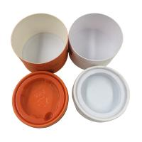 China Oil Cream Cosmetic Tube Packaging With PET Insert Cylindrical Tube Packaging wholesale