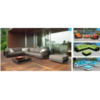 China 8pcs patio rattan/ wicker sectional sofa ottoman coffee table--9152 wholesale