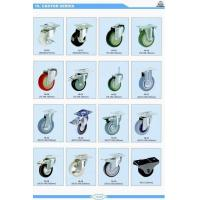China Furniture Caster Wheel with Plate or Brake-supplier wholesale