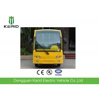Buy cheap Low Speed 48V 5KW Mini Electric Sightseeing Car / 8 Seats Electric Shuttle Bus from wholesalers