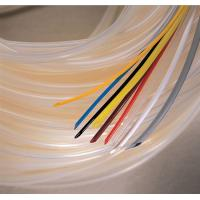 China Flexible White Silicone Rubber Tubing for Automobile Cable Wiring Insulation wholesale