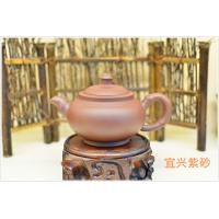 China Purple Clay Yixing Zisha Teapot Home Use Eco - Friendly For Black Tea wholesale