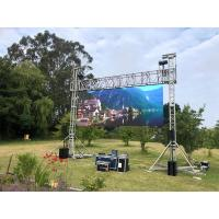 China P3 Outdoor Advertising LED Display , Stage Led Video Wall Panel Screen For Concert wholesale