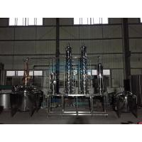 China Distiller Alcohol Distiller Distill Gin Distillation Unit Bubble Cap Column wholesale
