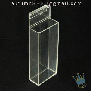 China BO (65) acrylic box with hinge lid wholesale