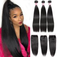 China 8A Grade 100 Unprocessed Malaysian Straight Hair Bundles For Ladys wholesale
