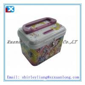 China Gift Tin Case/Present Tin Box on sale