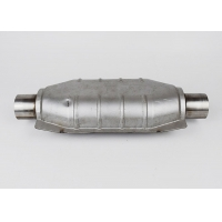 China Oval SS409 Car Catalytic Converter wholesale