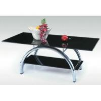 China home furniture, glass coffee table. top:1200*600*450mm, bottom:750*300*150mm wholesale