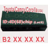 China Toyota / Camry / Corolla 4D68 Duplicable Chip B2XXX Auto Key Transponder Chip wholesale