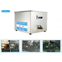 China High Performance Ultrasonic Cleaner Electronics For Circuit Board Restoration 15L 0.3KW wholesale