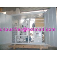 China High Voltage Transformer Oil Regeneration Purifier wholesale