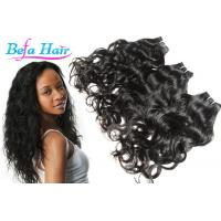 China Smooth Wet And Wavy Grade 6A Virgin Hair Weft Unprocessed Peruvian Hair Extension wholesale