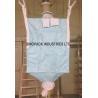 China Type D Fibc CROHMIQ blue / white for chemical powder transportation wholesale
