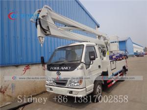 China Forland 12-16 Meters Aerial Platform Truck Truck Mounted Aerial Work Platform Aerial Bucket Truck wholesale