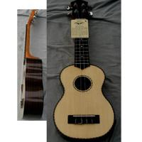 China Rosewood Back Elliptical 21inch Hawaii Guitar Ukulele with Medium level Rib AGUL21 wholesale