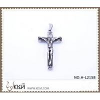 Quality Hot sell 316 Stainless Steel Cross & Christ Pendant H-L2158 for sale