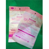 Buy cheap Eco - Friendly OPP CPP Flat Custom Heat Seal Bags With Round Hanging Hole product